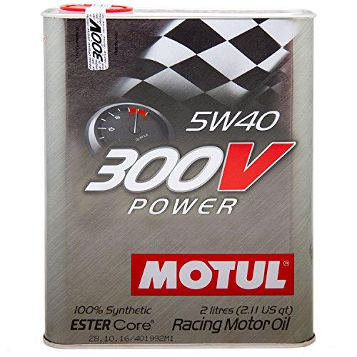 Motul 104242300V Power 5W-40Huile de moteur 2litre pas cher