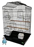Heritage Cages 5019 Richmond Large Bird Cage Budgie Finch Canary 47 x 36 x 68cm Budgies Medium Pet Home