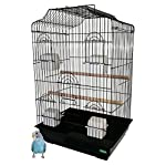 Heritage Cages 5019 Richmond Large Bird Cage Budgie Finch Canary 47 x 36 x 68cm Budgies Medium Pet Home 3
