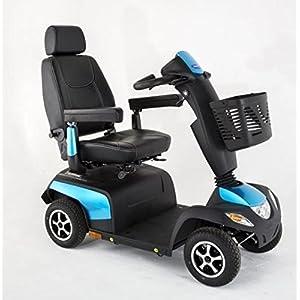 Invacare Orion Metro, 4-Rad-E-Mobil,Elektromobil 10 km/h, das saphierblaue Seniorenmobil inkl. Anlieferung/Einweisung/Aufbau vor Ort