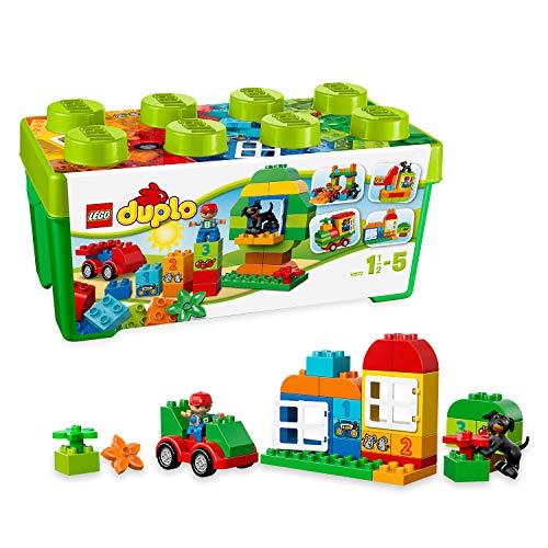 Lego duplo scatola costruzioni tutto-in-uno, single, colore verde, 10572