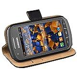 mumbi Ledertasche im Bookstyle für Samsung Galaxy Xcover 2 Tasche