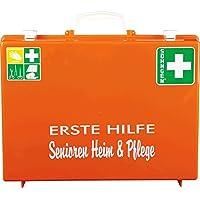 SÖHNGEN 360133 Erste-Hilfe-Koffer Senioren Heim & Pflege, orange, ASR A4.3/DIN 13157 aus Kunststoff preisvergleich bei billige-tabletten.eu