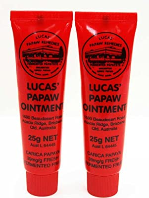 Lucas Papaw Ointment 25g Tube - TWIN Pack for value from Lucas Remedies