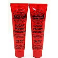 Ungüento Lucas Papaw tubo de 25g, paquete doble