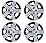 #4: Premium Quality Car Full Caps Silver 14inches Wheel Cover For - Toyota Qualis