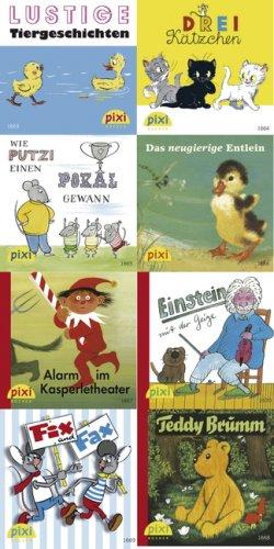 Carlsen Verlag GmbH Pixi-Serie Nr. 185: Pixis Bilderbuch-Klassiker: 8 x 8 Stück