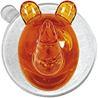 Kleine Wolke MS Kunststoff Ricco Rhino Wandhaken, orange