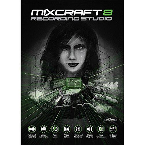 Acoustica Mixcraft 8 Recording