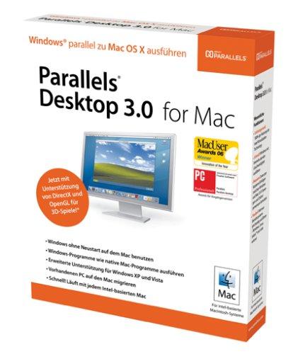 Preisvergleich Produktbild Parallels Desktop 3.0 for Mac