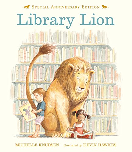 Library Lion por Michelle Knudsen