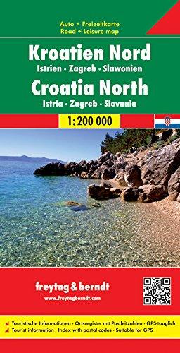 Croazia nord 1:200.000