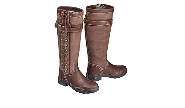 9b6f52e7250 Harry Hall Womens/Ladies Overstone Long Country Boots: Amazon.co.uk ...