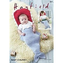 Sirdar 4837modello in Hayfield Baby Chunky–Sacco nanna per bambini, a forma di pesce