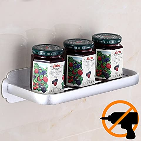 Wangel Strong Adhesive Shelf for Bathroom and Kitchen, Patented Glue