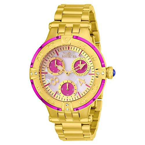 Invicta Women's Subaqua Gold-Tone Steel Bracelet & Case Quartz Watch 26141