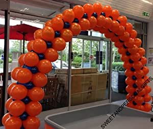 Large Floor Standing DIY Balloon Arch Kit No Helium Needed Air filled, for Weddings, Proms, Christenings etc