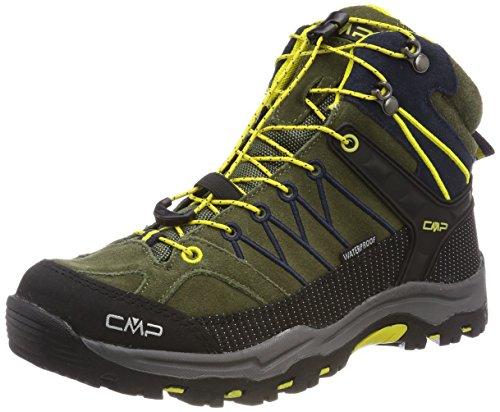 CMP Campagnolo Unisex-Erwachsene Rigel Mid Wp Trekking-& Wanderstiefel, Grün (Avocado-Antracite-Cedro), 39 EU