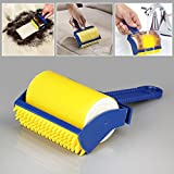 Orpio Reusable Sticky Buddy Picker Lint Sticking Roller Pet Hair Remover Hair Cleaning Brush Roller