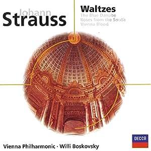 J Strauss: Waltzes/Blue Danube