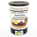 Aromas de Café - Café en Grano Tunki a la Naranja Ecológico/Café Tunki Ecológico y de Comercio Justo/El Mejor Café Especial del Mundo, 100 gr