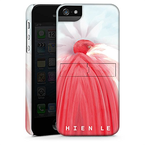 Apple iPhone X Silikon Hülle Case Schutzhülle HIEN LE Fashionweek Vogel Premium Case StandUp