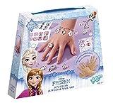 Totum- Disney Frozen / Die Eiskönigin / Bastel-Set: Schmuck Basteln + Nagelaufkleber