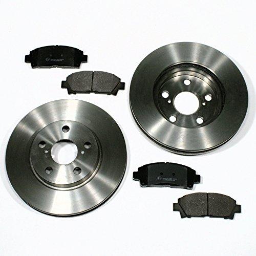 Preisvergleich Produktbild Toyota Avensis (T22) - Bremsscheiben Ø 275 mm / Bremsen + Bremsbeläge für vorne / für die Vorderachse
