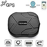 Tkmars GPS Tracker localizador GPS en tiempo real Localizador SMS Online 5000 mAh 90 días Standby
