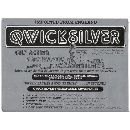 Potente limpiador para todo tipo de metales - QWICKSILVER- Limpieza electrolítica de metales.