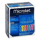 Microlet Lanzetten farbig 200 stk