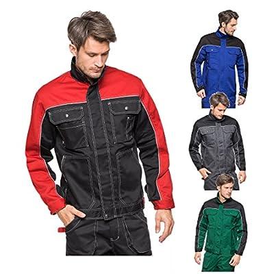 Arbeitsjacke schwarz 48 Sicherheitsjacke Schutzjacke Arbeitskleidung Berufsbekleidug