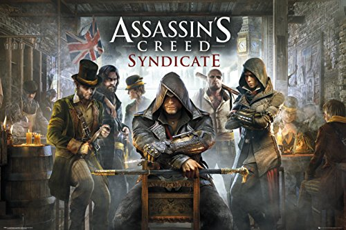 Assassin's Creed sindacato REINDERS #26315 - Maxi Poster 91,5 x 61 cm bar