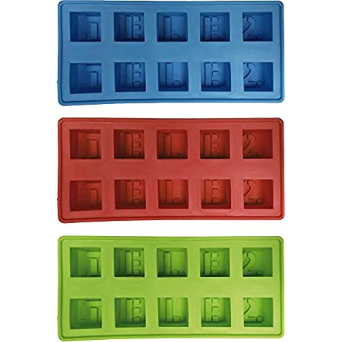 Home Style Hsc Eiswüfelform classic, colore: sortiti, 3 Pack
