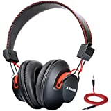 Avantree Audition Deep Bass Super Light Bluetooth Over Ear Headphones with 3.5mm Audio In, 40h Music Time, Wireless and Wired Dual Mode, aptX High-Res Sound, NFC