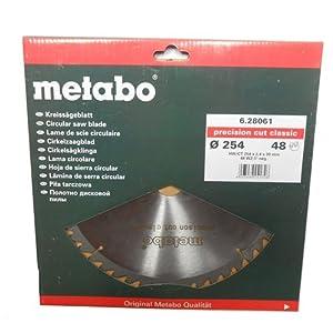 Metabo 628061000 254 x 30.48WZ5 HW/CT CircularSaw Blade