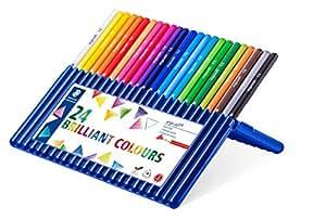 Staedtler Ergosoft Colored Pencils - Pack of 24 Colors
