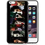 Funda iphone 6 Plus cover,Johnny Depp Hollywood Actor Director Jack Sparrow negro Shell cover for Funda iphone 6S Plus 5.5 Inches