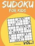 Sudoku For Kids: Sudoku Puzzle Books For Kids Age 6-10 (Easy To Hard) - Vol.1 (Sudoku Book): Sudoku For Kids: Volume 1 (Sudoku Puzzles Book)