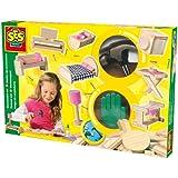 SES 14944 - Juego de construcción de muebles para casa de muñecas