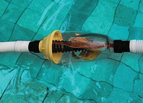 Kokido AC05CBX - Filtro de hojas para limpiafondos automáticos / uso con bombas de baja potencia (1/2 Hp) - Conecta a manguera de 38 mm