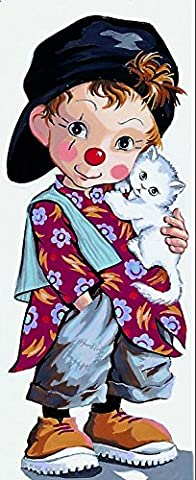 Royal Paris Tapestry Canevas/Point sur toile – Little Clown Pio