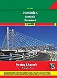 Freytag Berndt Autoatlas, Rumänien - Moldawien, Superatlas - Maßstab 1:300.000 (freytag & berndt Autoatlanten)