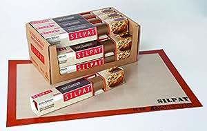 """Toile de cuisson professionnelle anti-adhérante """"Silpat """" 400 x 300 mm"""