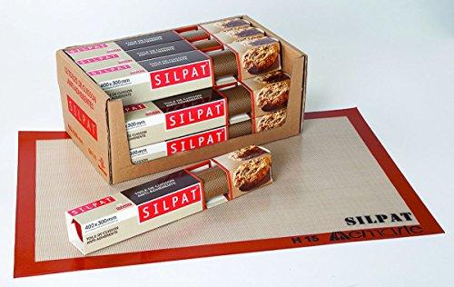 Toile de cuisson professionnelle anti-adhérante 'Silpat ' 400 x 300 mm