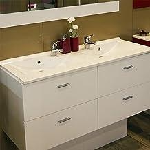 Amazon meuble salle de bains double vasque 120