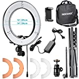 Neewer 14 Zoll/ 36cm �u�ere LED Ringlicht Set: 36W 5500K Ringleuchte+Licht Stand+ Soft Tube + 2 Farbfilter + Hot Shoe Adapter + Bluetooth-Empf�nger f�r Portr�t, Youtube Video Bild