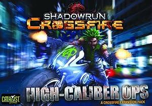 "Catalyst Game Labs ""Shadowrun Crossfire Misión 1Alta Caliber Ops-Juego de Mesa"