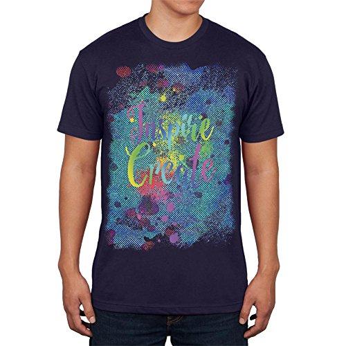 inspirar-y-crear-tono-medio-pintura-arte-mens-camiseta-navy-sm