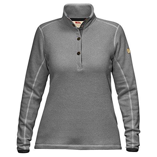 Fjällräven Damen Övik Fleece Sweater W Pullover, Grey, M